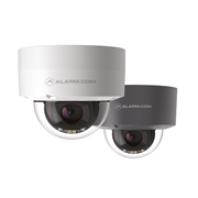 ALARM-28 | 2MP IP Alarm.com vandal resistant dome with IR 30m lighting for outdoor use