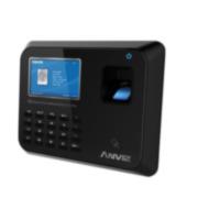 CONAC-653 | Terminal de control de accesos y presencia - Anviz. Huellas dactilares, tarjetas RFID y teclado. 3000 huellas/tarjetas, 50000 registros. TCP/IP, USB, RS485, RS232. 1 salida de relé. Entrada/salida Wiegand 26. 16 estados autodefinidos. 16 grupos de acceso, 32 zonas horarias. Códigos de 6 digitos. 50 mensajes cortos.