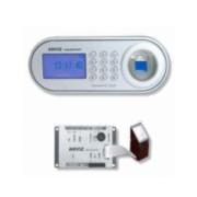 CONAC-661 | Módulo con lector de huella, teclado y display LCD - Anviz. Hasta 8 huellas. Identificación por huella dactilar, usuario y huella o usuario y contraseña. Panel de aluminio.