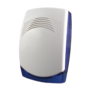 CQR-15 | Low profile piezoelectric siren with two bright LED for indoor use