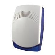 CQR-15 | Sirena elettrica di basso profilo con lampeggiante blu per uso in interni