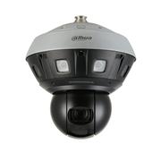 DAHUA-2972 | Dôme motorisé IP Dahua STARLIGHT panoramique 240°/sec., avec quatre caméras à objectif fixe 5mm + une caméra PTZ à zoom optique 40X avec Smart IR 400m pour l'extérieur