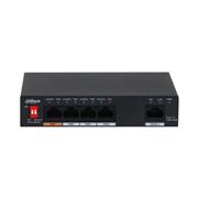 DAHUA-3029 | Switch comercial no gestionable de 4 puertos Fast Ethernet PoE + 1 puerto RJ45 Fast Ethernet