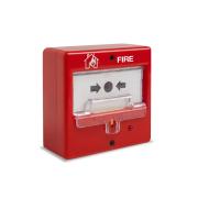 DEM-189-I | Pulsante manuale di allarme riarmabile con tappo