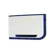 DEM-827 | Sirena de exterior blanca con flash azul