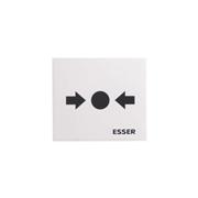 ESSER-34 | Cristal de repuesto para pulsador de alarma ESSER