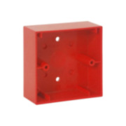 ESSER-5 | Red mounting box for Esser By Honeywell IQ8 analog pushbuttons