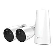 EZVIZ-27 | Kit de dos cámara WiFi IP EZVIZ de 2MP para exterior + estación base