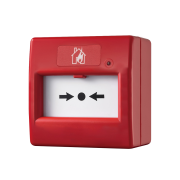 FOC-721 | Pulsante di chiamata manuale reiniziabile in colore rosso
