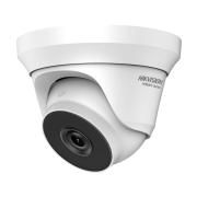 HIK-120   Domo fijo 4 en 1 Serie HiWatch™ de HIKVISION® con iluminación Smart IR de 40 m para exterior. CMOS de 4MP. Salida 4 en 1 (HDCVI/HDTVI/AHD/960H). Óptica fija de 2,8 mm (100°). Filtro ICR. OSD, AGC, BLC, WDR digital, DNR, brillo, nitidez, espejo. IP66. 3AXIS. 12V CC.