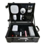 HIK-139 | Kit HIKVISION AXHub composé de: 1x panneau de commande à 32 zones via la radio DS-PWA32-HGR de la série AX (comprend un module de communication 3G / 4G), 1x détecteur PIR via la radio DS-PD2-P10P-W, 1x contact Magnétique via radio HIK-137 (DS-PD1-MC-WWS), 1 balise de proximité PYRO-71 (DS-PTS-MF), 1x clavier via radio HIK-133 (DS-PKA-KLM), x1 bouton radio HIK-138 (DS-PKFE-5), x1 Radio bouton DS-PKFS-4, 1x Expander via radio avec 8 sorties HIK-136 (DS-PM-WO8), 1x Expander via radio HIK-134 (DS-PM -WI1), 1x lecteur d'étiquettes HIK-132 (DS-PTA-WL-868), 1x sirène extérieure HIK-140 (DS-PSG-WO-868), 1x sirène intérieure HIK-141 (DS-PSG- WI-868), 1x dôme fixe IP WiFi HIKVISION extérieur anti-vandalisme DS-2CD2523G0-IS.