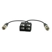 HYU-635 | Transmettitore passivo di video HDCVI/HDTVI/AHD/CVBS di 1 canale di transmissione in tempo reale di fino a 4K