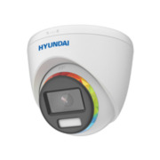 HYU-891 | 4-in-1 fixed dome Color View series with 40 m white lighting for outdoor use