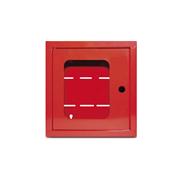 INTEVIO-66 | Caja de metal color rojo