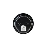INTEVIO-68 | Altavoz metálico de techo para montaje empotrado de 6W para líneas de 100V con transformador de potencia variable (6-3-1,5-0,75W)