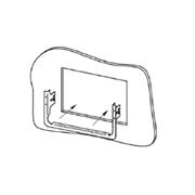 INTEVIO-71 | Marco para la instalación semienpotrada de los altavoces serie ABT-W6.X