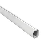 NICE-009 | 5 meter mast in white painted aluminum.