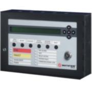 NOTIFIER-12   Panel repetidor remoto con pantalla alfanumérica de cristal líquido LCD de 2 líneas de 40 caracteres alfanuméricos.