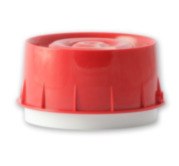 NOTIFIER-137 | Sirena direccionable de color rojo y aislador incorporado.