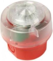 NOTIFIER-218 | Flash con base alta IP65 para alarma de incendio según EN54/23.