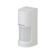 OPTEX-157 | Detector PIR vía radio panorámico 180° de la serie WX Infinity para exteriores. Alcance ajustable hasta 12m, 180°. Detección de lados derecho e izquierdo independientes. Lógica de procesado avanzado SMDA. 14 pares de zonas de detección horizontales y 2 capas verticales. Rango de detección izquierdo/derecho ajustable en 5 niveles. Sensibilidad ajustable en 3 niveles. Salida de alarma izquierda, derecha y salida de fallos/tamper contra sabotaje. IP55. Autoalimentado por pilas de litio.