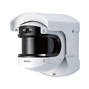 OPTEX-198 | Sensor Optex REDSCAN PRO de largo alcance para interior/exterior con tecnología LiDAR