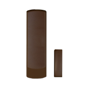 PAR-214   Wireless magnetic contact of 2 zones in brown color