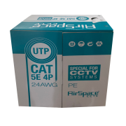 SAM-4445 | Roll of 305 meters of UTP cable CAT5E 24AWG rigid