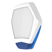 TEXE-24 | Odyssey X3 white / blue front cover for Odyssey X-B outdoor backlit siren base.
