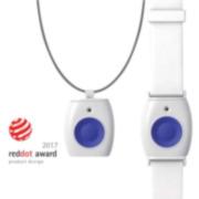 VESTA-078   Pendant / Bracelet with panic and emergency alarm button from VESTA