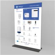 VESTA-198FR | Présentoir de point de vente Vesta by Climax (n'inclut pas les produits)