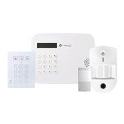 VESTA-261 | Kit AUTÓNOMO 1 VESTA compuesto por:. 1x Central compacta 2G VESTA-067 (BOGP-3-2G) de 50 zonas vía radio y Grado 2. 1x teclado vía radio de Grado 2 con lector de proximidad VESTA-012 (KPT-39N-F1). 1x detectores PIRCAM vía radio VESTA-008 (VST-862-F1) con Grado 2. 1x Contacto magnético vía radio VESTA-013 (MDC-3-F1) con Grado 2