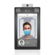 ZK-123 | Terminal multibiométrico ZKTeco con reconocimiento facial, de palma con detección de fiebre para Control de Accesos