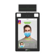 ZK-168 | Terminal ZKTeco con medición de temperatura de referencia, verificación Facial, de palma y térmica
