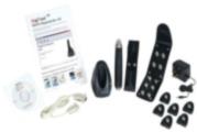 CONAC-354 | Kit consists of: X1 CONAC-342: Data acquisition reader; X1 CONAC-350: Leather case for CONAC-342; X1 CONAC-343: Data acquisition base; X1 CONAC-348: Book of digital points of events; X12 CONAC-346: Patrol points; X1 CONAC-349: RS-232; X1 CONAC-358