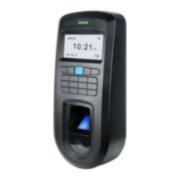 CONAC-688 | Lector biométrico autónomo Anviz de huellas dactilares y RFID EM 125KHz con teclado. 2000 huellas / tarjetas RFID. 50000 registros. TCP/IP, RS485, miniUSB, Wiegand 26. Entrada sensor de puerta / pulsador apertura. Salida de relé NA/NC. 12V CC. Para interior.