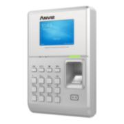 CONAC-718   Terminal de control de acceso y presencia Anviz. Identificación por tarjeta RFID EM 125KHz, huella dactilar, contraseña y combinaciones. 5000 huellas/tarjetas, 200000 registros. 1 salida de relé. Salida Wiegand. TCP/IP, USB host, Mini USB, RS485. Servidor web. Incorpora WiFi. 8 estados autodefinidos. Admite PoE.