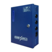 CTD-623N | Power supply in metal box with 9 total outputs 12V / 10A