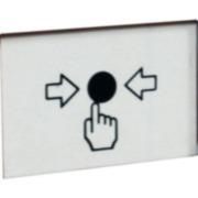 DEM-99 | Vitre de rechange pour interrupteurs-boutons DEM-97 / 98