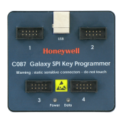 HONEYWELL-101   Programador para llave spi (spi key)de Galaxy G3 o dimension