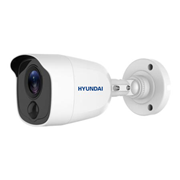 HYU-481 | HD-TVI bullet camera PIR series with Smart IR of 20 m and motion detection by active PIR, for outdoors