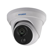 HYU-566   Dome fisso HD-TVI serie PIR con Smart IR di 20 m e rilevamento di movimento con PIR attivo, per esterni