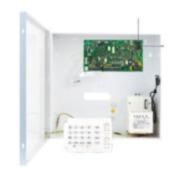PAR-101F | Kit composé par: 1x Central PCBMG5050 hybride de 6 a 32 zones avec récepteur via Radio 1x boîte métallique grande avec transformateur 1Amp 1x Clavier K10H de leds de 10 zones