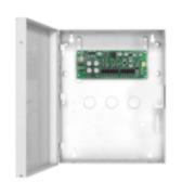 PAR-212 | Modulo fonte di alimentazione supervisionato (2,8 ampere) in scatola metallica.