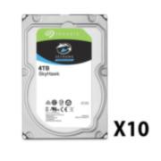 SAM-3907A | Pack de 10 discos duros de Seagate®