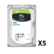 SAM-3908P | Pack de 5 discos duros de Seagate®