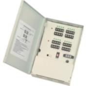 SAM-611 | Fuente de alimentación de 16 salidas estabilizadas 12 V 500mA c.u.