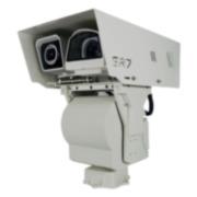 TERM-75 | Système duel (caméra thermique + caméra visible HD) SR7Fire-MD-DUAL pour la détection d'incendie en environnement industriel