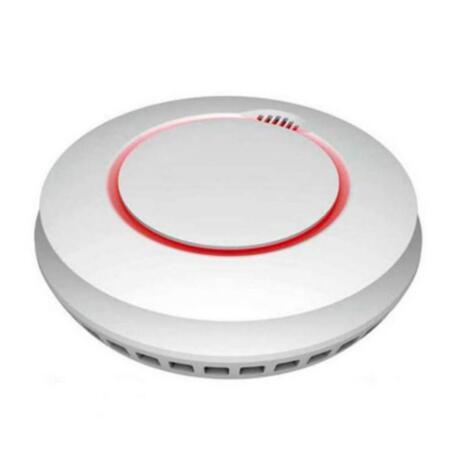 COFEM-52   Detector de humos autónomo COFEM interconectable con módulo WiFi y aplicación para Smartphone. Cumple con la EN14604:2005. Incluye 2 pilas AA.