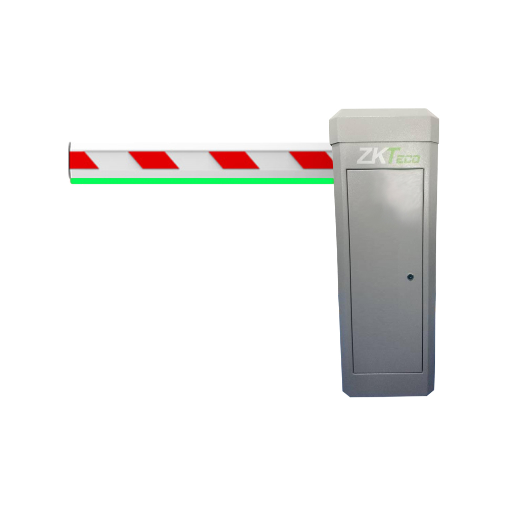 ZK-40 | Barrier with chassis with LED and arm with 4.5 m LED (housing to the right of the arm)